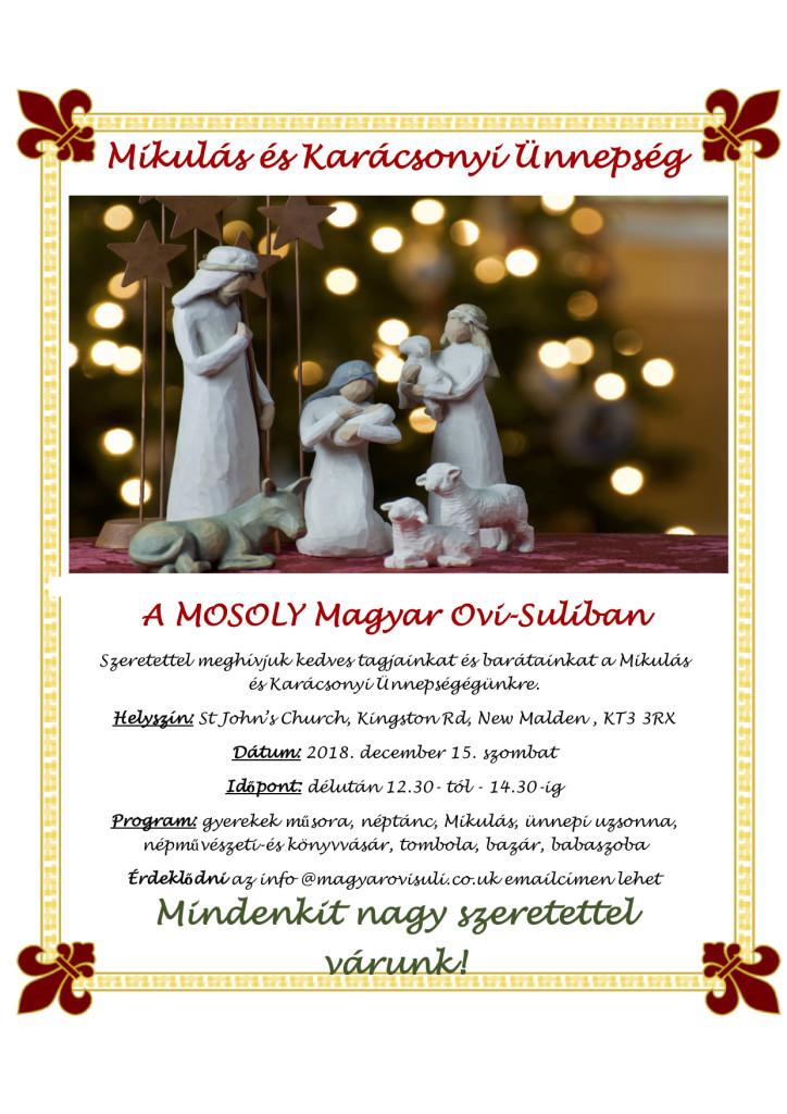 Karácsonyi meghivo 2018