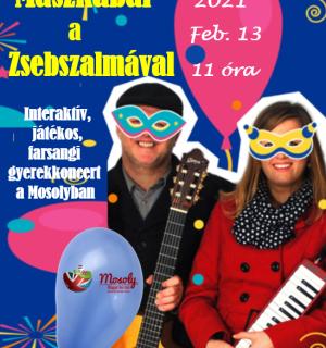 Mascarade Party with Zsebszalma – Online Concert